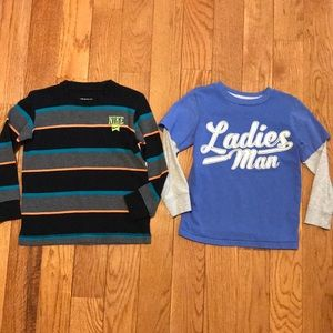 Other - Two size 4 long sleeve tops